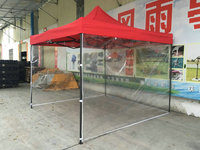 9*1.9m Transparent Tent cloth waterproof Ad Tent apron for 3m*3m tent rack