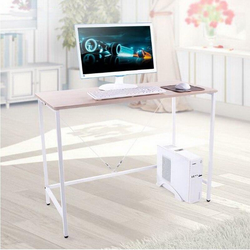 cm de acero de madera escritorio de la casero simple