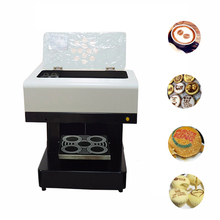 купить Vilaxh Automatic DIY Art Coffee Printer For Food Cake bread Cappuccino Biscuits Flower Drinks Printing Machine Free Edible ink онлайн