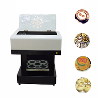 Vilaxh Automatic DIY Art Coffee Printer For Food Cake bread Cappuccino Biscuits Flower Drinks Printing Machine Free Edible ink