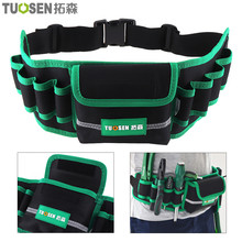 Multifunction Durable Waterproof Canvas Tool Bag Waist Belt Bag Electrician Repair Tool