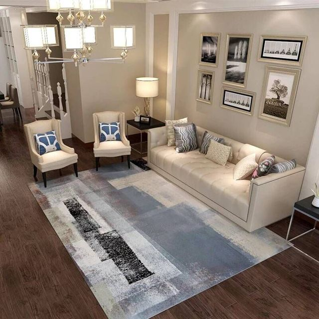 Modern Abstract Carpets For Living Room Sofa Chair Table Rug Home Decoration Bedroom Carpet Study Floor Mat Dining Rugs