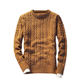 Suéter de Cuello Redondo de Manga larga Slim Fit Marca S311 Navidad Hombres Suéter Suéter Hombres Suéter Masculino Homme Tirón Marca