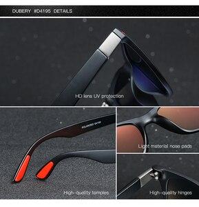 Image 2 - DUBERY رجل يستقطب القيادة النظارات الشمسية النساء الفاخرة العلامة التجارية مصمم الرياضة في الهواء الطلق التشطيب نظارات شمسية مربع مرآة UV400