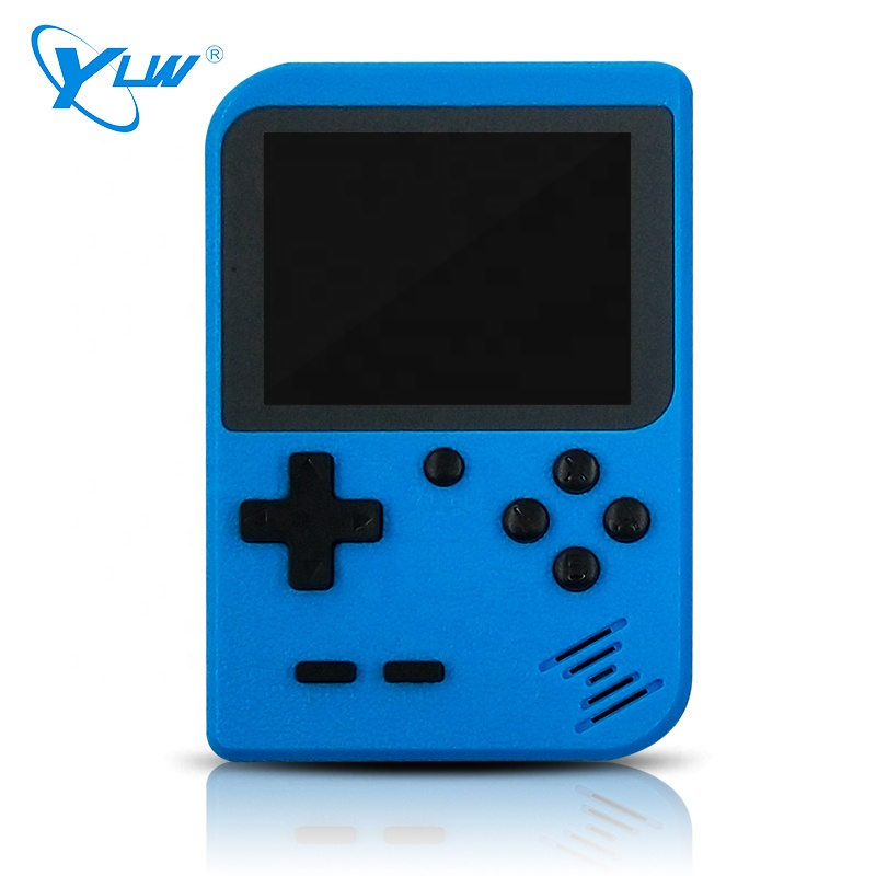 2019 New Design Portable Handheld Console Built In 400 Retro Games Support 2 Players TV Console