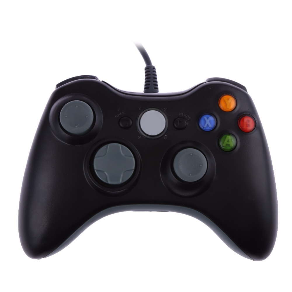 usb wired joypad gamepad controller for xbox 360 microsoft. Black Bedroom Furniture Sets. Home Design Ideas