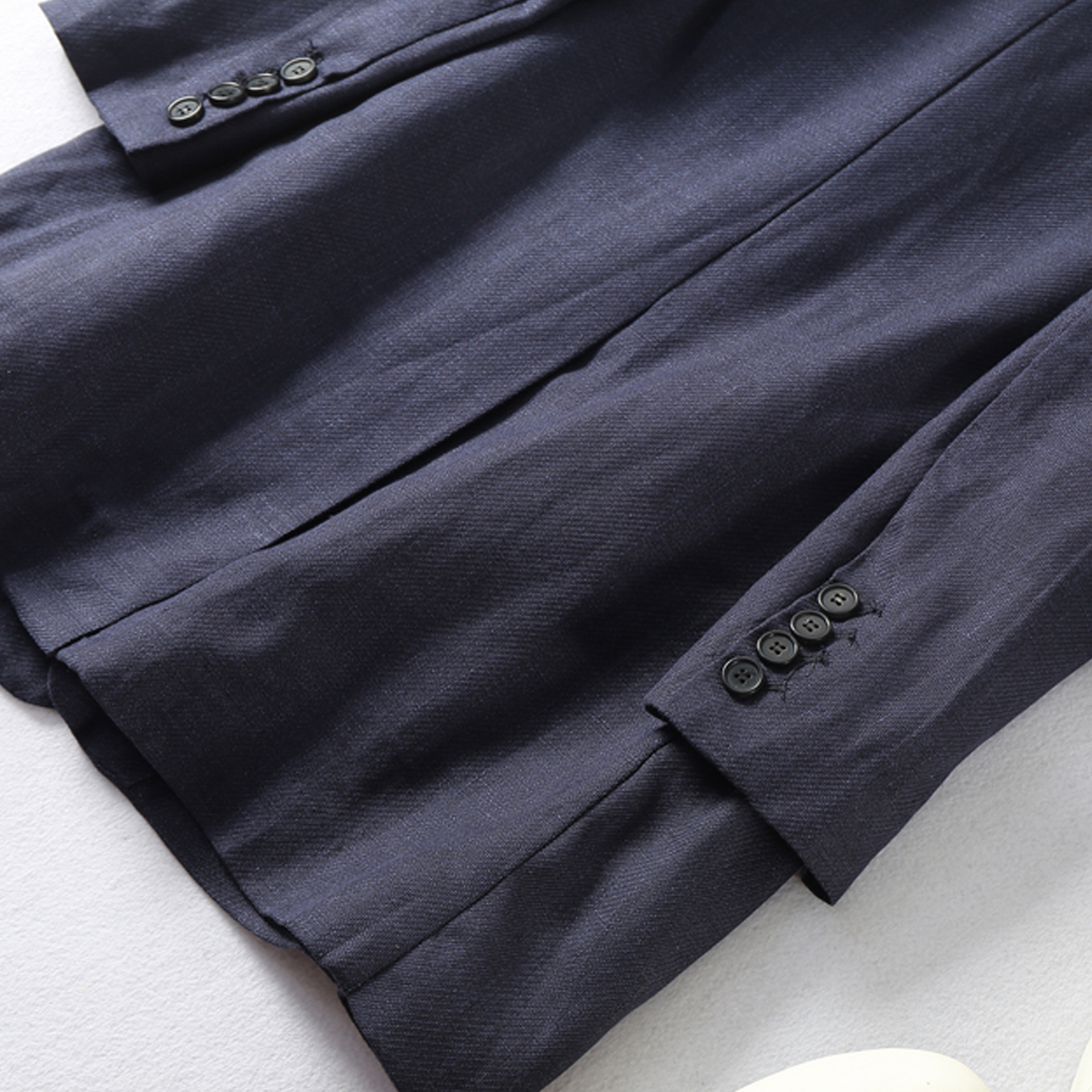 100% linen top quality new 2018 spring women blazer