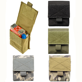 CQC Mini Tactical Molle Waist Pack Bag Utility EDC Pouch Military Army Camping Hiking Running Hunting Accessories Bags new tactical military hunting small utility pouch pack army molle cover scheme field sundries bags outdoor sports mess briefcase