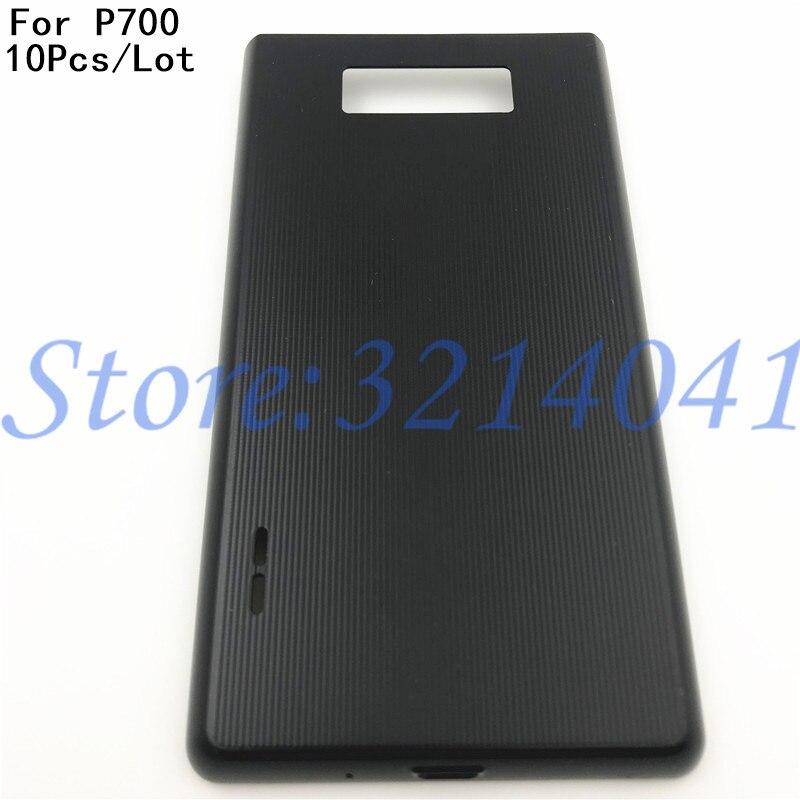 10 pçs/lote boa qualidade bateria de volta capa caso habitação porta traseira para lg optimus l7 p700 p705 p708 com logotipo