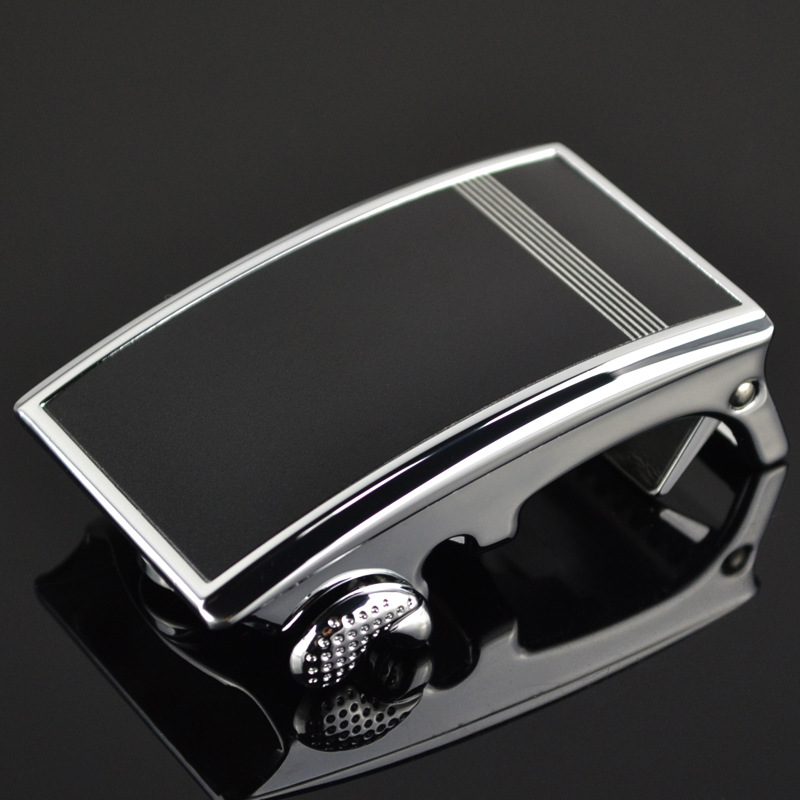New Fashional Automatic Buckle Inner Through Automatic Buckle Mens Waistband Ratchet Real Genuine Leather Belts CE597-03