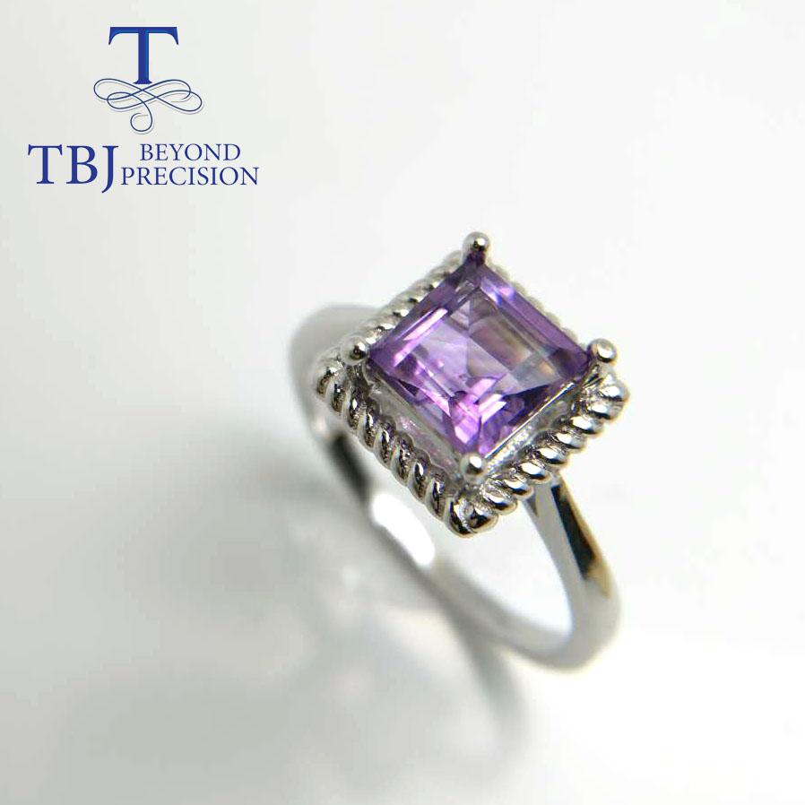 Ametista Dove Trovarla tbj, ametista naturale anello in argento 925 gioielli