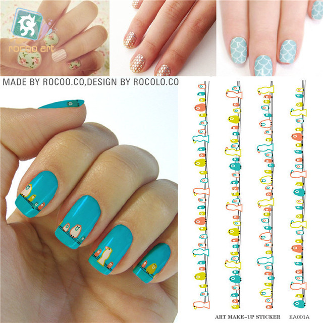 1pcs Beauty Nail Foil Decorations Tools Water Transfer Nail Art ...