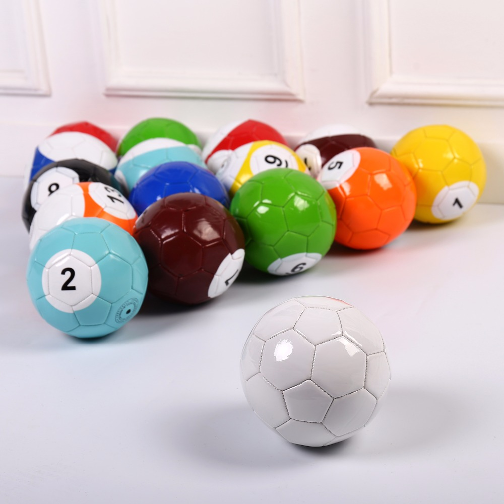 4# 16 Pcs Gaint Snooker Snook Ball Soccer 8.5 Inch In Snookball Game Huge Billiards Pool Football Include Air Pump Toy Poolball