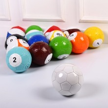 4# 16 Pcs Gaint Snooker Snook Ball Soccer 8.5 Inch In Snookball Game Huge Billiards Pool Football Include Air Pump Toy Poolball high quality 18cm diameter 7 giant inflatable snooker soccer ball in snookball game huge billiards ball air pump 16 pcs soccer