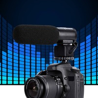 3.5mm Professional Electret Microphone Camera Single Channel Microphones Camera Audio Accessories Stereo Microphone