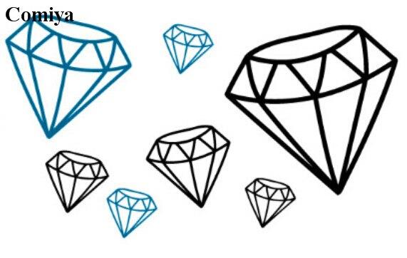 Diseño De Diamante Para Tatuaje Sfb