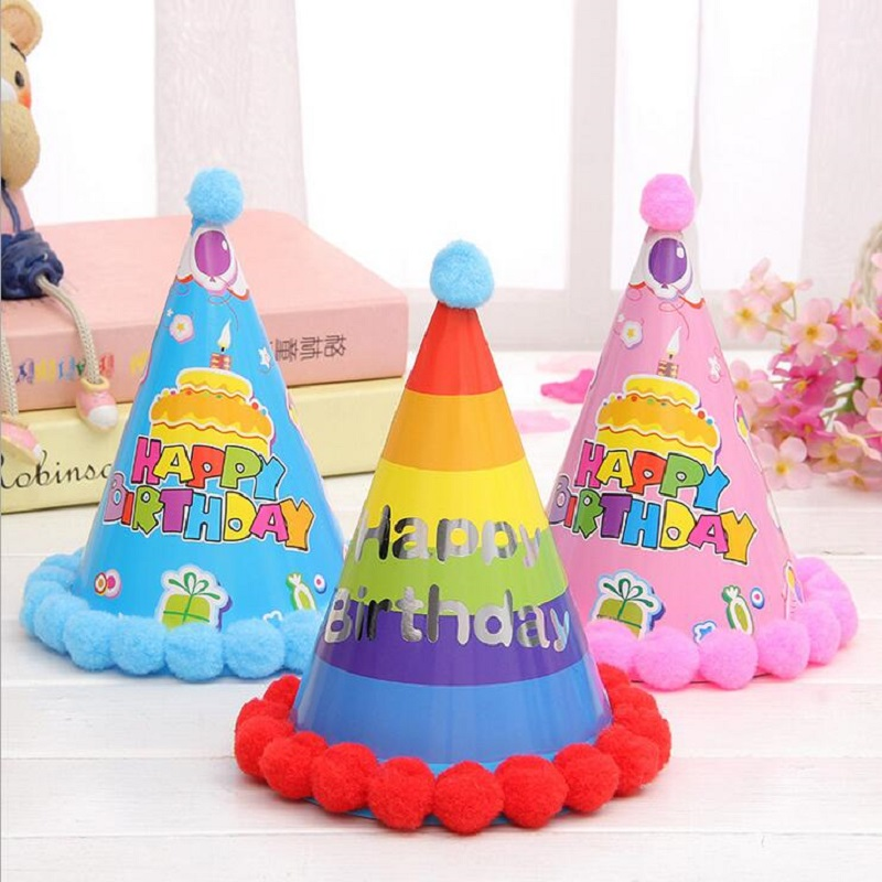 Paper Hats Dress Up Girls Boys Party Supplies Kids Adults Birthday Cap Decoration Favors Christmas Celebration 6Z In From Home