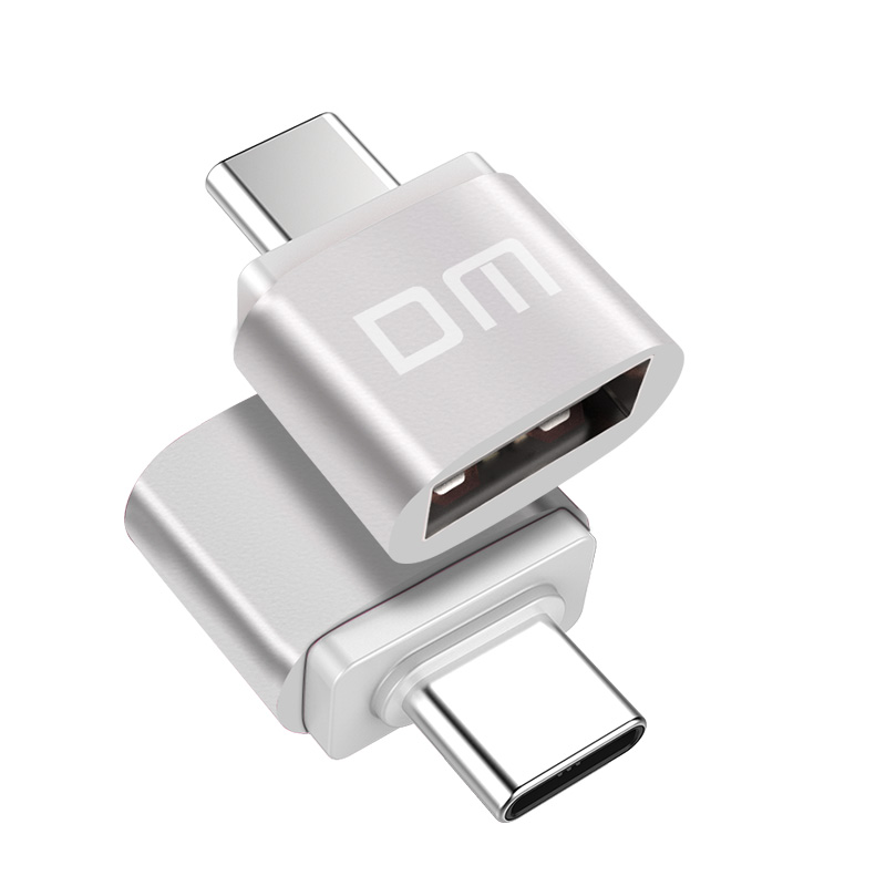 DM AD002 Type-C To USB OTG Adapter MicroUSB Converter Typec USB Data Connector Support Android Phones With USBC3.1 Interface