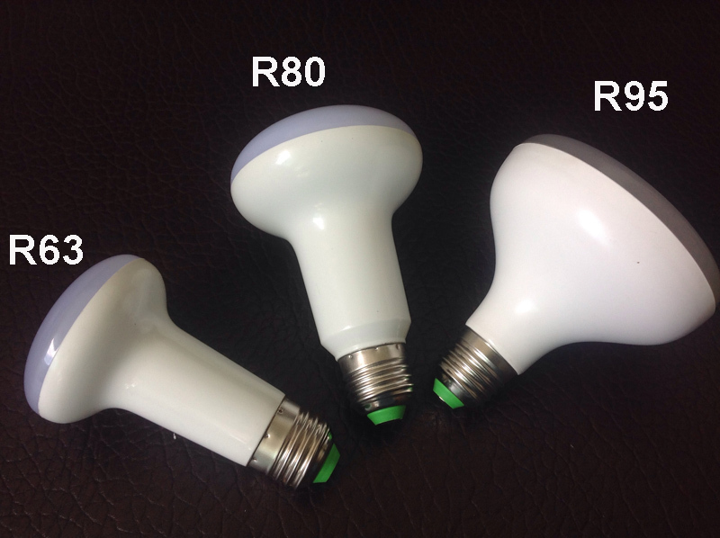 R63 R80 R95 7W/12W/15W E27Umbrella LED Bulb Cool White/Warm White AC85~265V Dimmable SpotLight 180 Degrees Lamp For Home Office