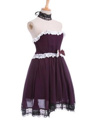 purple font b anime b font dress costumes font b anime b font font b cosplay