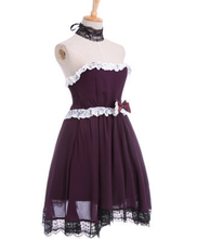 Purple anime dress disfraces anime trajes de cosplay para las mujeres la ropa del anime japonés anime dress