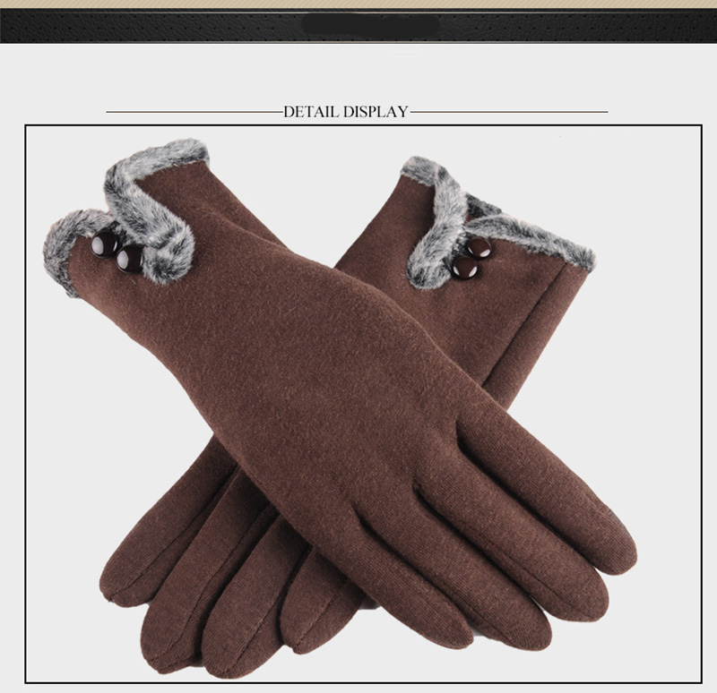 Comfortable and Warm Non Inverted Touch Screen Gloves for Women with Sensitive Touch Screen Function without Hand Exposing to Cold 20