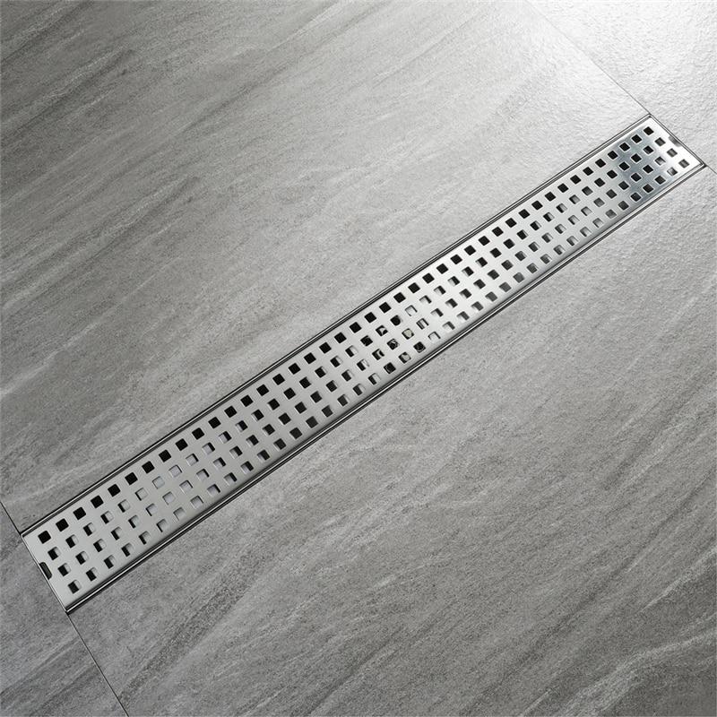 Hideep Bathroom Linear Floor Drain Mesh