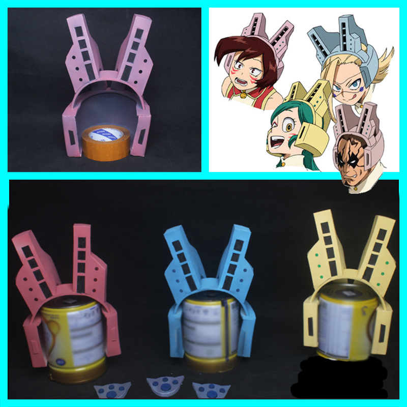 2019 Anime Cosplay Headset Boku No Hero Academia Headphone My Hero Academia Pussy Cat Cosplay Props Helmet Accessories Women Men