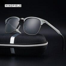 Hindfleld fashion sunglasses men Brand design Luxury sun glasses for men polarized goggles uv400 Shading mirror oculos Original