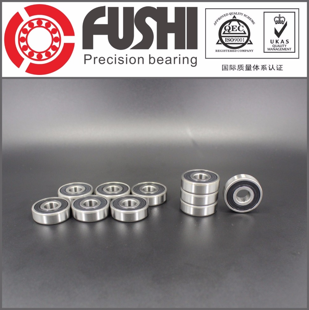 1623 2RS ABEC-1 (10PCS)  5/8x1 3/8x7/16 inch Shielded Ball Bearings 1623RS print bar trance