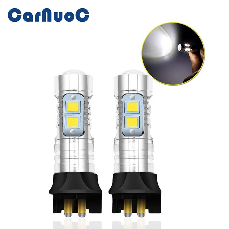 Canbus PW24W LED Projector DRL Daytime Running <font><b>Light</b></font> Turn Signal Bulb For Nissan BMW Toyota Ford Honda Open Audi <font><b>volvo</b></font> image