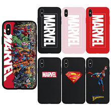 Cool Super Hero Comics Culture Soft Case for iPhone 7 8 Plus 6 6s Plus X Xs Max XR 5s SE Phone Cover TPU Silicone Cases Coque(China)
