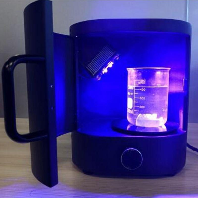 Nova3d de bureau UV durcissement machine pour SLA/DLP/LCD 3D imprimante résine modèles