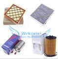 4 pçs/lote filtro de Gasolina filtro de Óleo filtro de Ar filtro de Ar condicionado para Chevrolet cruze 13253690 93185674 13272717 13271190