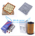4pcs/lot Air cleaner Air conditioner filter Gasoline filter Oil filter for Chevrolet cruze 13253690 93185674 13272717 13271190