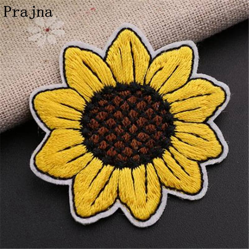 1pc Yellow Iron-on Patch Sunflower With Sequins Patches Sew-on And Reflective...