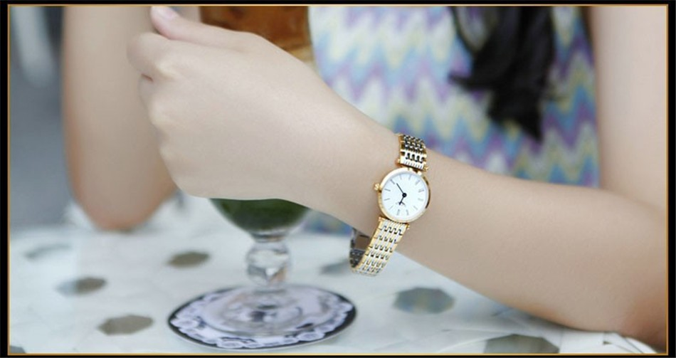 GUANQIN Women Watches 2017 Luxury Top Brand Watch Women Casual Fashion Gold Silver Steel Quartz Girl Watches relogio feminino (12)