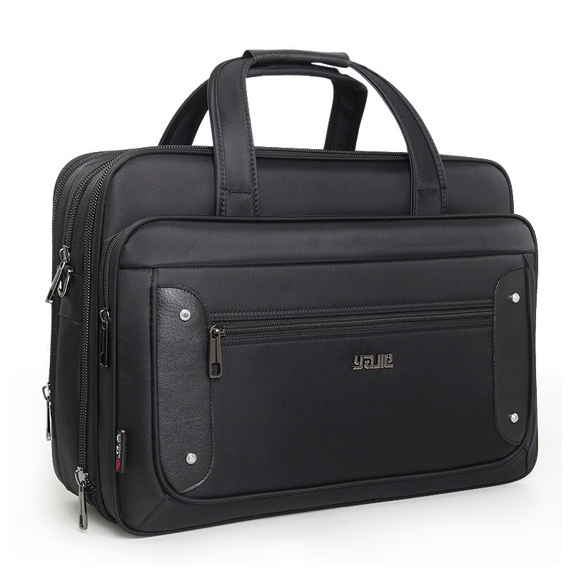 Super Capacity Plus Men's Business 16 17 19 Inch Laptop Bag Casual Oxford Crossbody Travel Bag