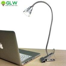 цена на 5W Led Table Lamp  Reading Book Flexible 50cm Tube Desk Light  White Warm White Abajur para quarto