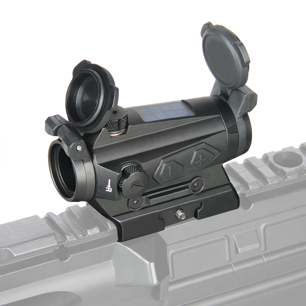 PPT  1x20MM Compact Red Dot Sight 2MOA Solar Energy Sight For Hunting Shooting OS2-0126