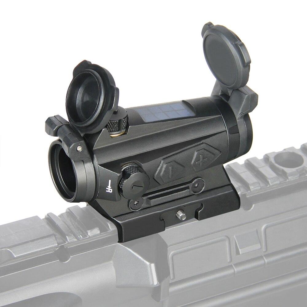 PPT vista óptica 1x20MM compacto punto rojo airsoft Rifle alcance vista 2MOA energía Solar vista para caza fotografía óptica OS2-0126 UNIKIT FTTH ESC250D SC APC /UPC fibra óptica monomodo nuevo modelo conector rápido óptico