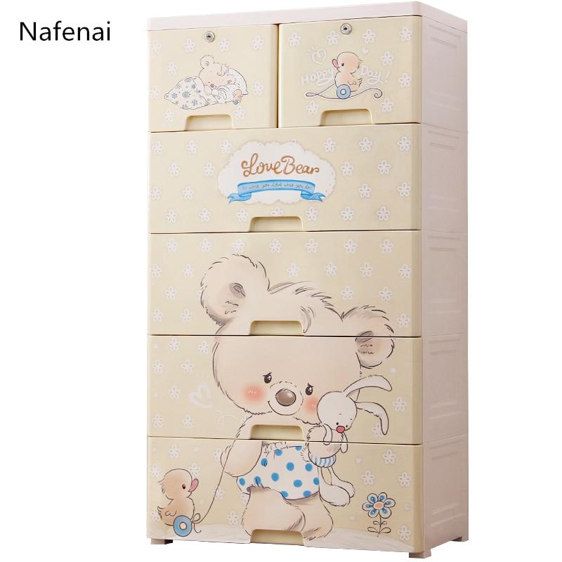 Nafenai Non-woven Multifunction Wardrobe Closet Furniture Fabric Large Wardrobe Portable Folding Cloth Storage Cabinet Locker