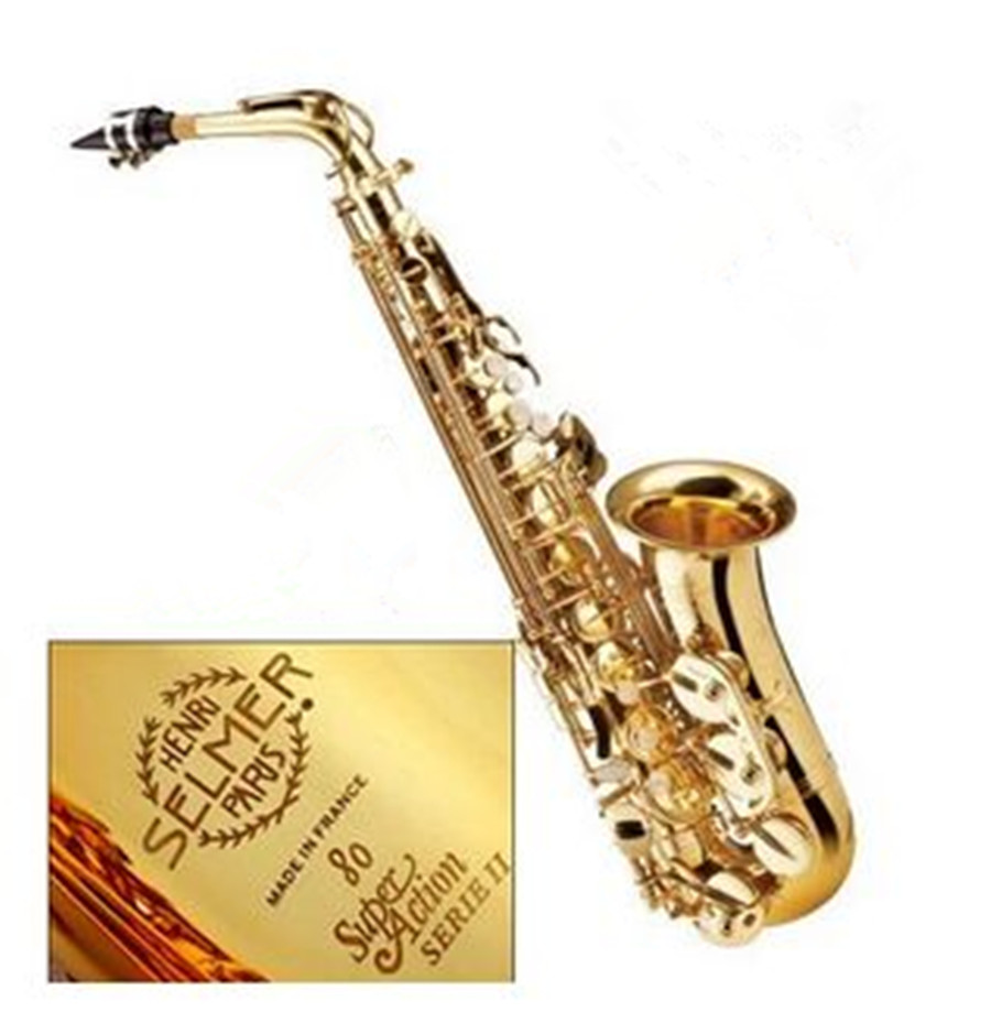 Alto Saxophone New Hot FREE SHIPPING selmer 802 saxophone high musical instrument and electrophoresis professional grade gold nidhi gondaliya and sweta patel methicilin resistance staphylococcus aureus skin