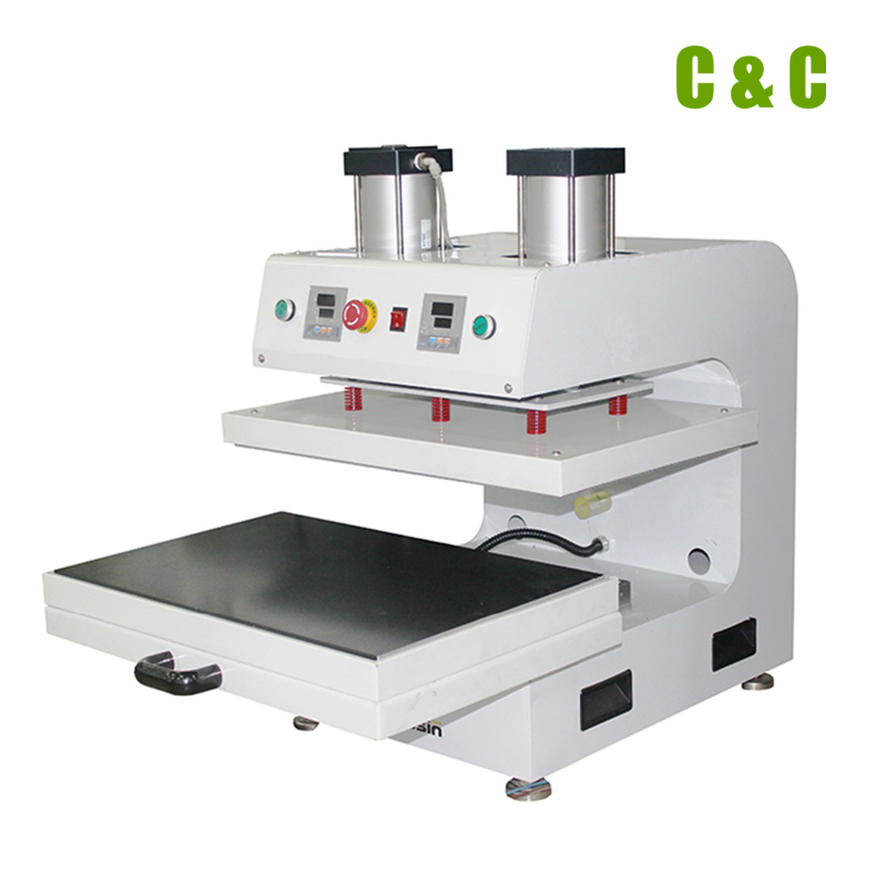 Large Format Sublimation Machine pneumatic Heat Transfer