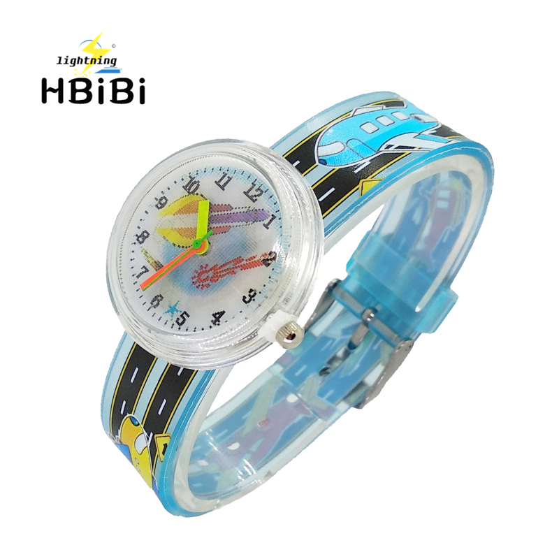 Rocket Satellite Children Dream Watches Sports Fashion Quartz Wrist Watch For Kids Boys Girls Students Clock Relogio Infantil
