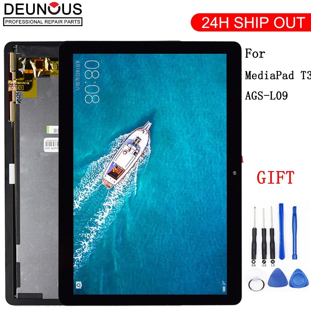 ЖК-дисплей с дигитайзером сенсорного экрана в сборе, для Huawei Mediapad MediaPad T3 10, 6, 10, 5, 4, 5, 4, 4, 4, 4, 4, 4, 4, 4, 4, 4, 4, 4, 4, 4, 3 дюйма-0