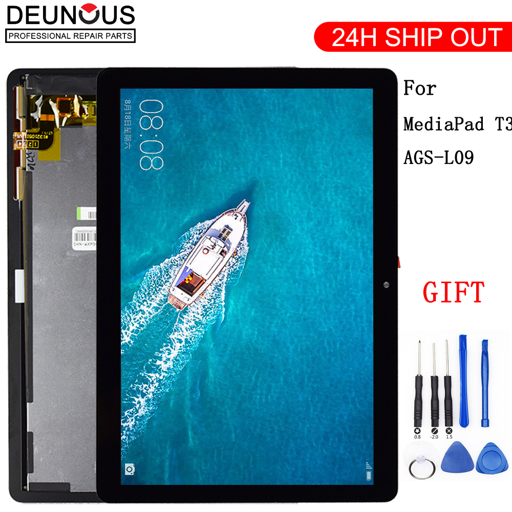 New 9.6 For Huawei Mediapad MediaPad T3 10 AGS L03 AGS L09 AGS W09 T3 LCD display touch screen digitizer assembly