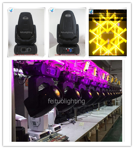 A- 6x Feituo 16/24 CH 10r 280w beam spot wash moving head light Stage show sharpy beams