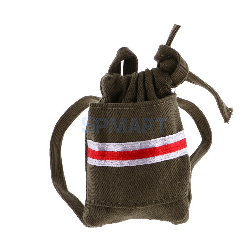 Армия зеленый шнурок холст рюкзак для куклы школьная сумка-рюкзак для монстр высота куклы ...