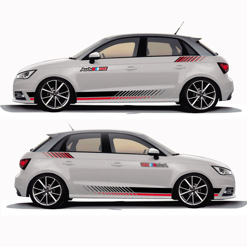 TAIYAO car styling sport car sticker For Audi A1 30 TFSI Sportback S Line Mark Levinson car accessories and decals auto sticker